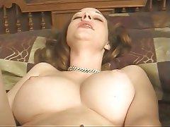 Masturbation MILF Big Boobs Lingerie Brunette