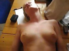 Amateur Blonde Close Up Orgasm
