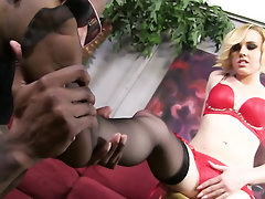Ebony Feet Fetish Panties