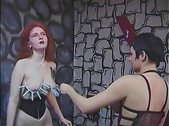 Lesbian BDSM Redhead Femdom