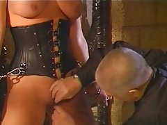 BDSM Big Boobs Blonde Latex