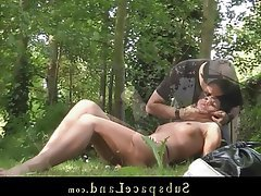 BDSM Blowjob Bondage Brunette