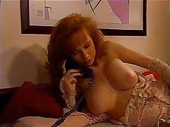 Masturbation Redhead Nylon Lingerie