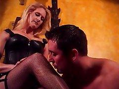 BDSM MILF Blonde Femdom