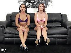 Hardcore Interracial Lesbian Small Tits