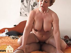 Blonde Blowjob Cumshot German