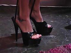 Lesbian Foot Fetish Blonde Brunette