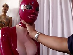 Anal Latex Threesome