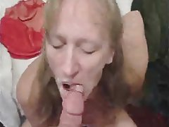 Amateur Blowjob Close Up Cumshot MILF