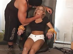 BDSM Hardcore Spanking Stockings