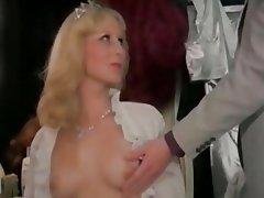 Blonde Nerd Stockings Vintage