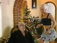 Babe Blonde Blowjob Old and Young