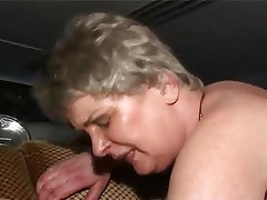 Anal Double Penetration Granny Threesome
