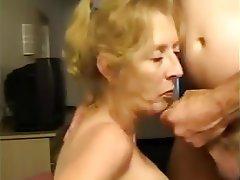 Amateur Facial Granny