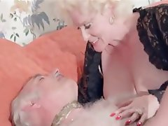 Anal Hairy Old and Young Threesome