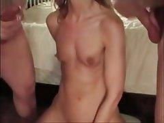Amateur Blowjob Cumshot Small Tits