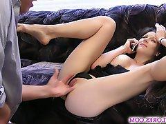 Cumshot Femdom Orgasm POV