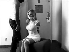 BDSM Bondage Secretary Stockings