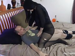 Creampie Cumshot Femdom Old and Young