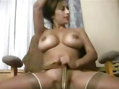Big Boobs Indian Stockings