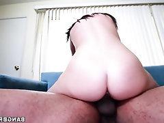 Amateur Big Ass Big Cock Blowjob Cumshot