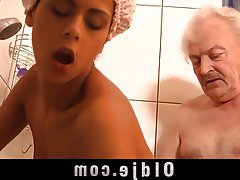 Blowjob Brunette Hardcore Old and Young