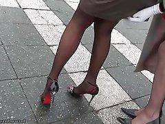 Lesbian Mature Nylon Stockings
