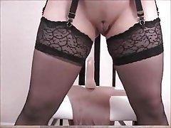 Bondage Brunette Cosplay Pornstar