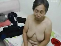 Amateur Asian Granny