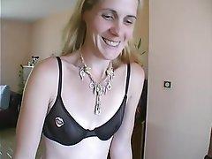 Amateur Blonde French Voyeur