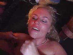 Blonde Gangbang German Group Sex