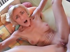 Anal Blonde Granny Old and Young
