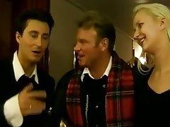 Anal Blonde German Threesome