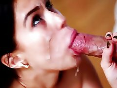Blowjob Close Up Cumshot Facial