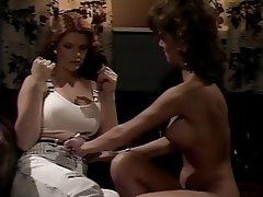 Lesbian Brunette Vintage MILF
