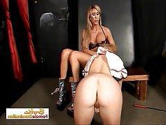 BDSM Big Boobs Bondage Lesbian