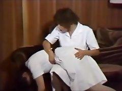 Babe BDSM Cosplay Spanking