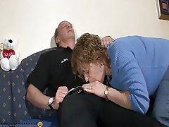 Blowjob Brunette Granny Hardcore