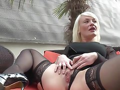 Amateur Anal Blonde French