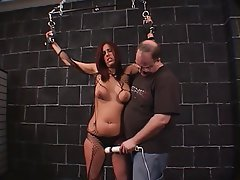 BDSM Big Boobs Brunette Lingerie
