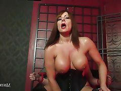 BDSM Big Boobs Cumshot Femdom