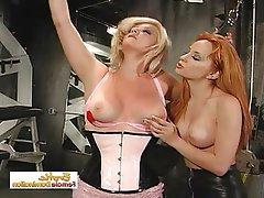 BDSM Bondage Lesbian Spanking