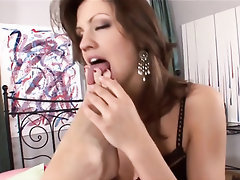 Babe Blowjob Ebony Feet