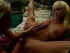 Lesbian Blonde MILF Big Boobs