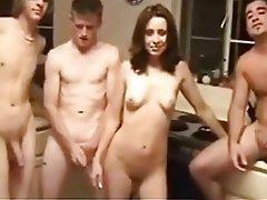 Group Sex Swinger Threesome