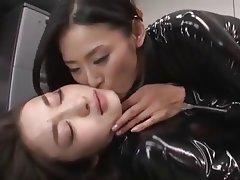 Asian Latex Lesbian