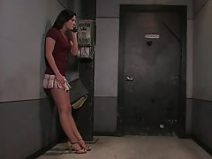 BDSM Bondage Brunette Rough