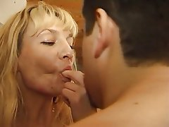 Anal Blonde French