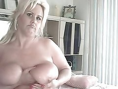 Amateur Big Boobs Blonde Mature MILF