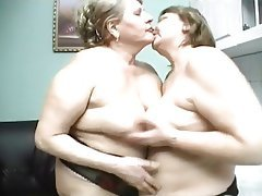Lesbian Granny Big Boobs